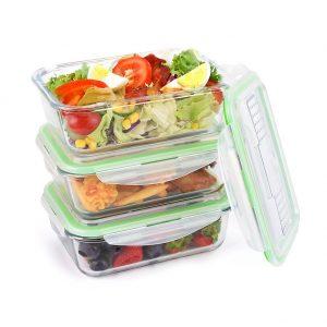 Lunchboxen aus Glas